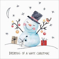 Lunch napkins - Dreaming Snowman