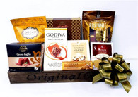 Gift basket kit to make 24 baskets. 10 Items including the basket