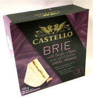 Rosenborg Brie Cheese with Garlic & Pepper 125 gr. 12/cs