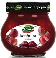 Lowicz cherry jam 240 gr., 8/cs