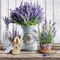 "Lunch Napkins - Lavender 6.5""x6.5"""