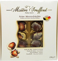 Maitre Troffout Belgian seashells 250 gr., 12/cs