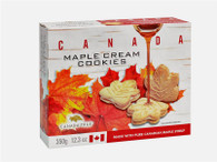 Canada True Maple Cream Cookies 350 gr., 12/cs