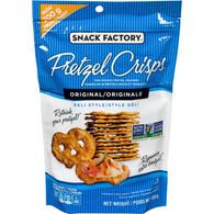 Snack Factory Pretzel Crisps - Original 200 gr., 12/cs