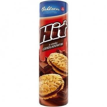 Bahlsen HIT biscuits - Chocolate 220 gr., 24/cs