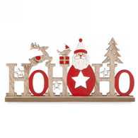 HOHOHO decor in red & natural