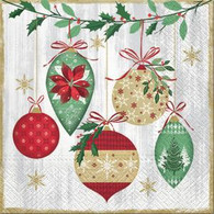 Lunch Napkins - Ornaments