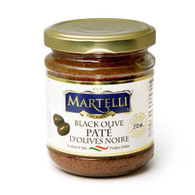 Martelli Black Olive Pate 212 ml., 12/cs