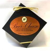 Northwood Cheese shelf-stable Beer Cheese in a black rigid box 106 gr., 24/cs