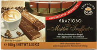 Maitre Truffout Milk chocolate with cappuccino cream filling Grazioso 100 gr., 16/cs