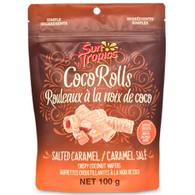 Sun Tropics Gluten & Dairy Free Coco Rolls - Salted Caramel 100 gr., 12/cs