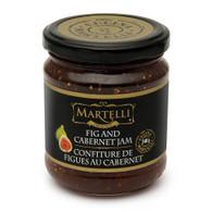 Martelli Fig & Cabernet Jam 240 ml., 6/cs