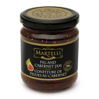 Martelli Fig & Cabernet Jam 240 ml., 6/cs