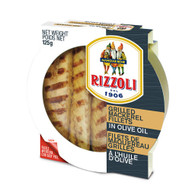 Rizzoli Grilled Mackerel Fillets in Olive Oil 125 gr., 10/cs