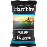 Hardbite Rock Salt & Vinegar Chips 50 gr., 30/cs