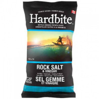 Hardbite Rock Salt & Vinegar Chips 50 gr., 30/cs