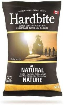 Hardbite All Natural Chips 50 gr., 30/cs