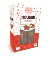 Truffettes de France CRANBERRY Nougat 90 gr., 12/cs (9 Individually Wrapped pcs), Kosher