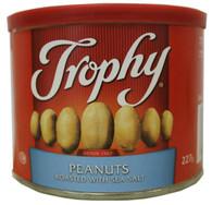 Trophy peanuts roasted with sea salt 227 gr.,12/cs