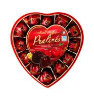 Maitre Truffout Heart Pralines box 165 gr., 8/cs