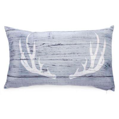"""Antlers cushion 19""""x11"""""""