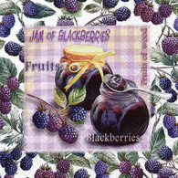 "Lunch Napkins - Berry jam 6.5""x6.5"""
