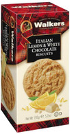 Walkers Lemon & White Chocolate Biscuits 150 gr., 12/cs