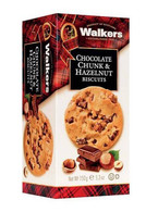 Walkers Chocolate Chunk & Hazelnut Biscuits 150 gr., 12/cs