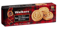 Walkers Pure Butter Shortbread Rounds 150 gr., 12/cs