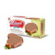 Lumar Milanea wafer cakes covered with milk chocolate hazelnut 130 gr., 15/cs