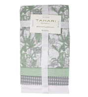 "TAHARI 4-Pack Cotton Receiving Blankets - ANIMALS 4 blankets, 100% cotton, 30""x30"""