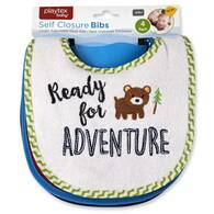 "Playtex 4-Pack Bibs ""Ready for Adventure"""