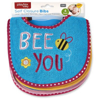 "Playtex 4-Pack Bibs ""Bee You"""
