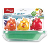 Playtex Baby Squeeze fish squirters and rinser boat