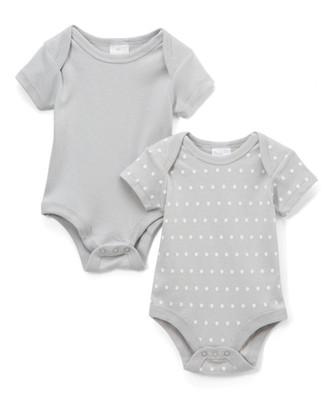 2-Pack Bodysuit 100% Cotton - PINK 0-3M
