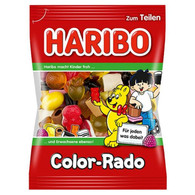 Haribo Color-Rado Licorice & Gummy Candy 100 gr., 30cs