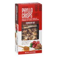Nu Bake Phyllo Crisps - Cranberry Oat 80 gr., 12/cs