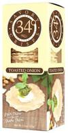 34 Degrees Savory Crisps - Toasted Onions 127 gr., 12/cs