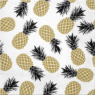 """Lunch napkin - Pineapples 6.5""""x6.5"""""""