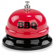Red metal bell - BBQ