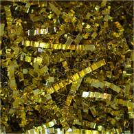10 lb box Spring Fill Pure Gold Metallic crinkle cut