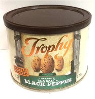 Trophy peanuts roasted with black pepper 227 gr., 12/cs