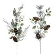 """24"""" Pine, berry and holly pick - 2 styles"""