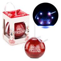 "3"" LED Ornament ""Best Friends"""
