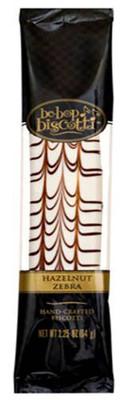 Be-Bop Biscotti - Hazelnut Zebra 64 gr., 12/cs