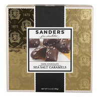 Sanders Dark chocolate sea salt caramel, Gold box 99 gr., 6/cs