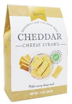 Too Good Gourmet Cheddar Cheese Straws - GOLD 56 gr.,24/cs