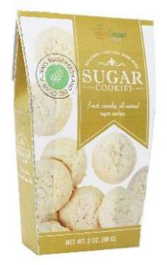 Too Good Gourmet Sugar Cookies - GOLD 56 gr., 24/cs