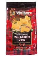 Walkers Pure Butter mini shortbread Scottie dogs 125 gr., 12/cs