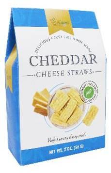 Too Good Gourmet Cheddar Cheese Straws - BLUE 56 gr.,24/cs